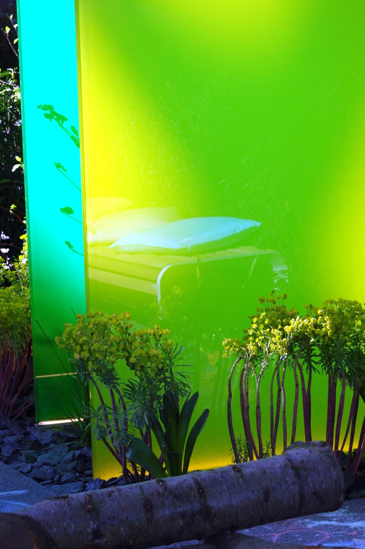 Knumox Glas Design Garten